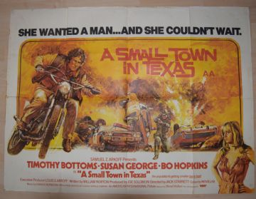 Movie Posters – A Small Town in Texas | British Quad Poster